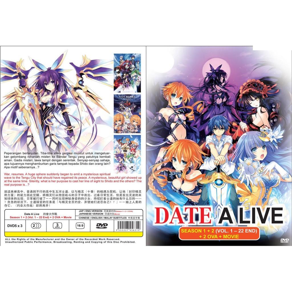 ANIME DVD ~ Date A Live Season 1+2(1-22End)