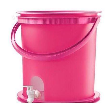 Tupperware Pink Water Dispenser (1) 14.5L
