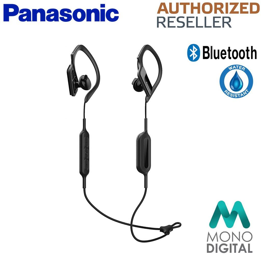 7b38d734c7f Panasonic RP-BTS10 Wings Wireless Bluetooth Sport Headphones - White/Black    Shopee Malaysia