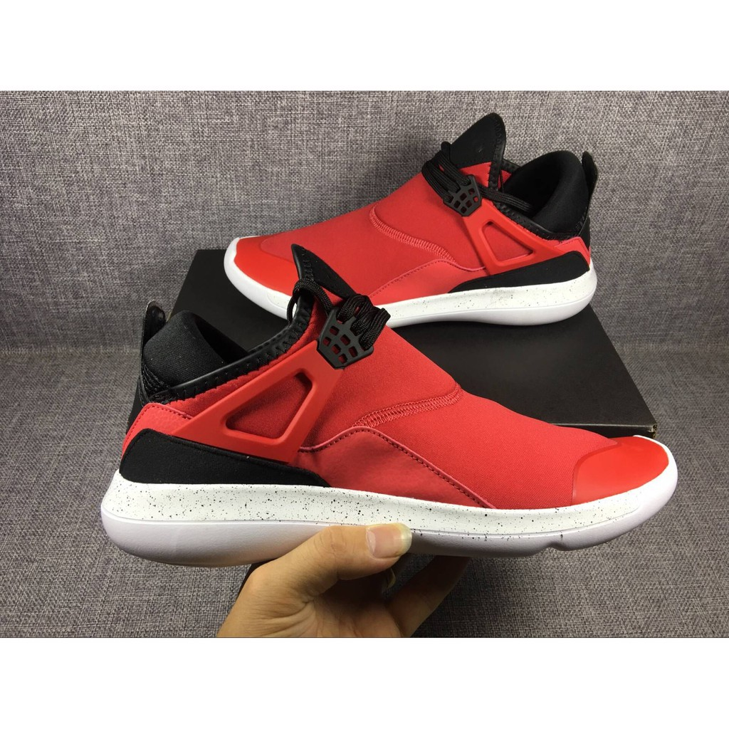 limited guantity crazy price outlet boutique Original Nike Air Jordan FLY 89 Mens Running Shoes Breathable Red Black