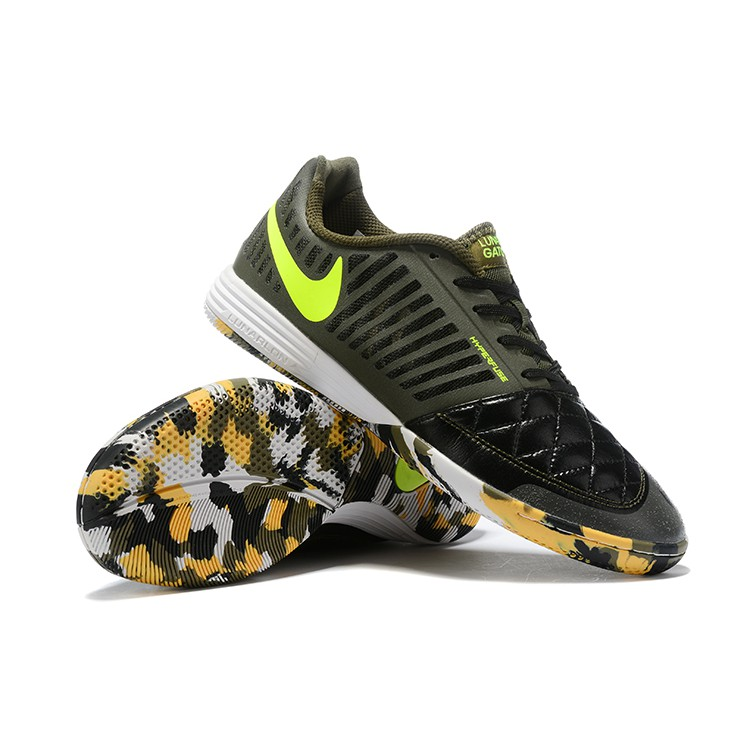 wholesale outlet details for 100% authentic Nike 5 LUNAR GATO II IC MD flat-bottom indoor men's soccer shoes ...