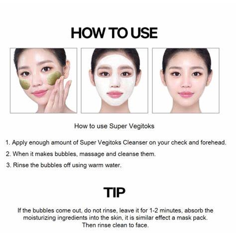 Wonder Bath Super Vegitoks 2 Step Mask Pack 28ml*6s Red