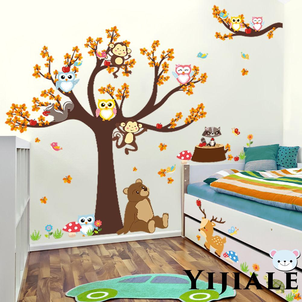 Jungle Animals Wall Stickers Decal