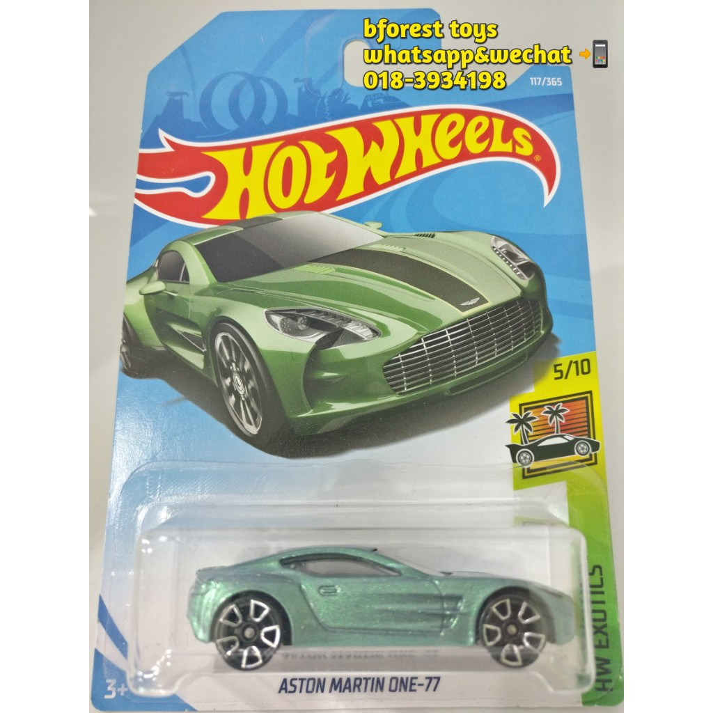 Hot Wheels Aston Martin One Green Shopee Malaysia - Aston martin 117