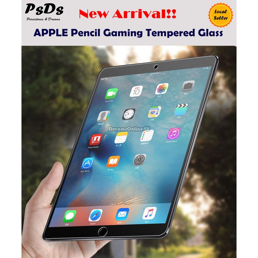 PsDs AGC Pencil Gamer Matte Tempered Glass iPad mini 9 7 Pro 10 5 11 12 9  2018