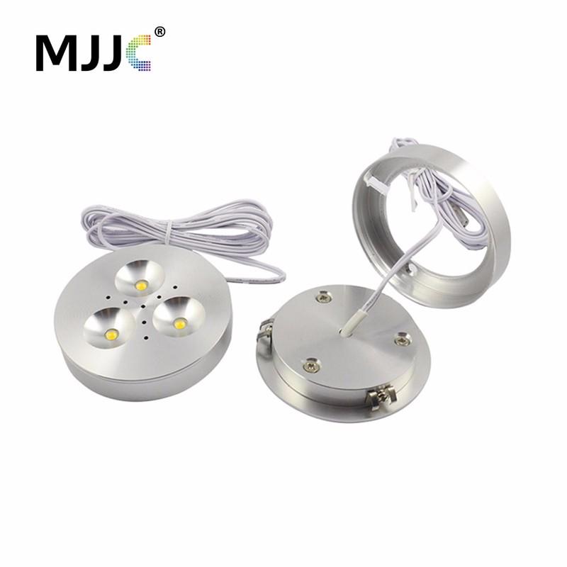 Led Puck Light 12v Dc Led Downlight Lighting For Under Kitchen Cabinets Lamp