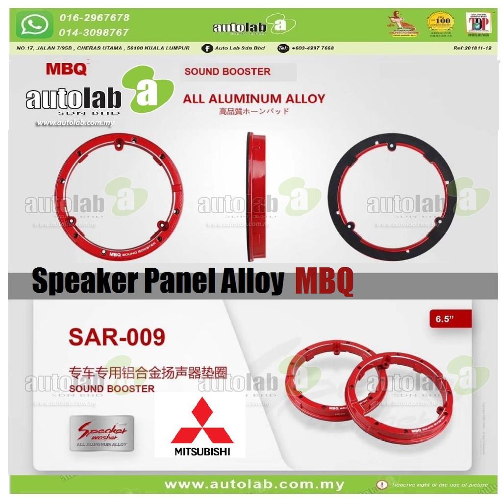 "Speaker Panel Alloy Sound Booster MBQ 6.5"" Mitsubishi SAR-009"