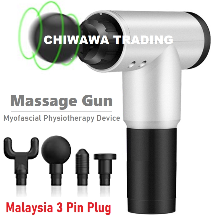 6 Speed Electronic Fascial Gun Dynamic Vibrator Muscle Stimulator Massage Vibrating Deep Relax Therapy Exercise Massager