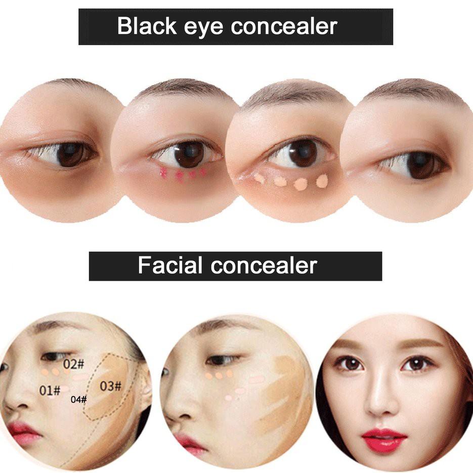 Eraser Concealer Pen Black Spots Dark Circle Eyes Face Cosmetics Makeup Tool Shopee Malaysia