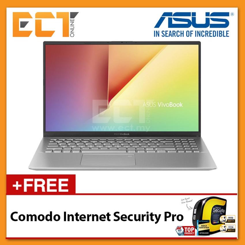 "Asus Vivobook A512F-LBQ179T Laptop (i5-8265U 3.90GHz,4GB,512, NV MX250-2G,15.6"" FHD,W10) - Silver"