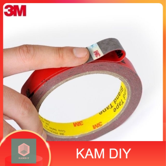 3M Acrylic Double Sided Tape 10mmx10y