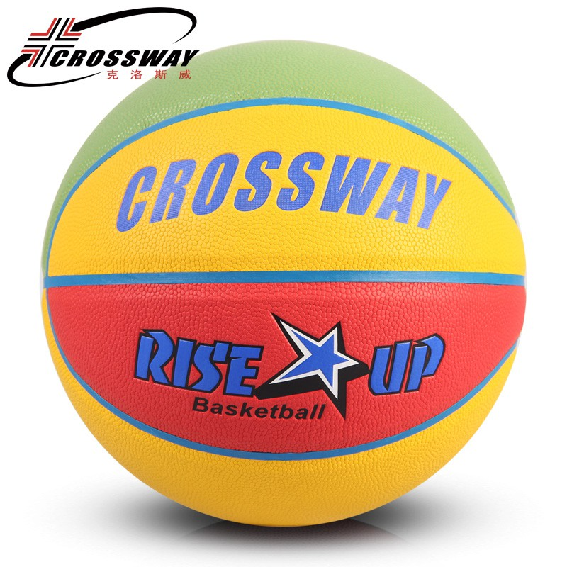 CROSSWAY New Brand Women Basketball Balls Size 6 Basketball Ball with  Needle+Bag  4e85f2b8e0