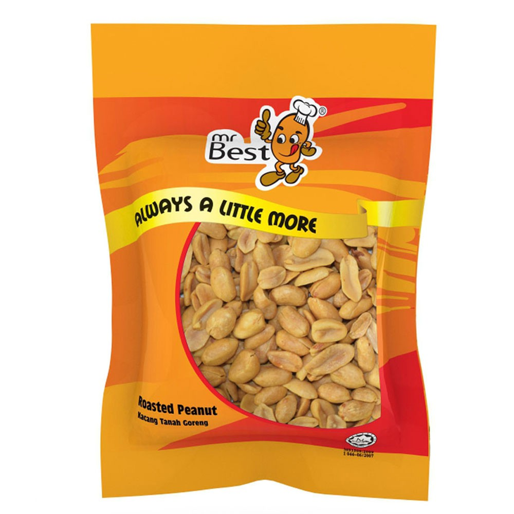 Mr Best Roasted Peanut 220g