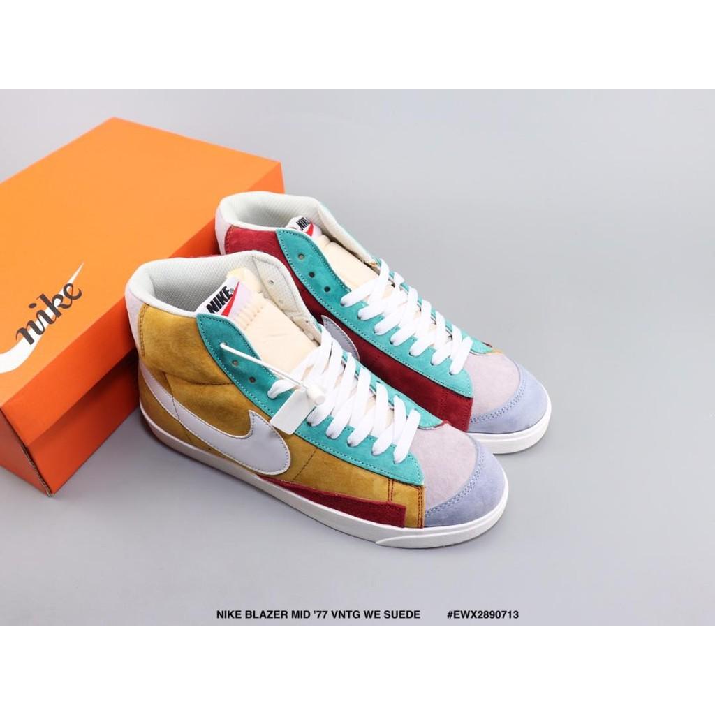 We Mid Nike Blazer Suede Vntg '77 '7 xBdeQCoWr