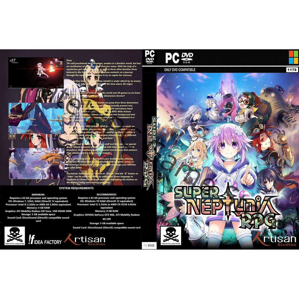 (PC) Super Neptunia RPG Deluxe Edition