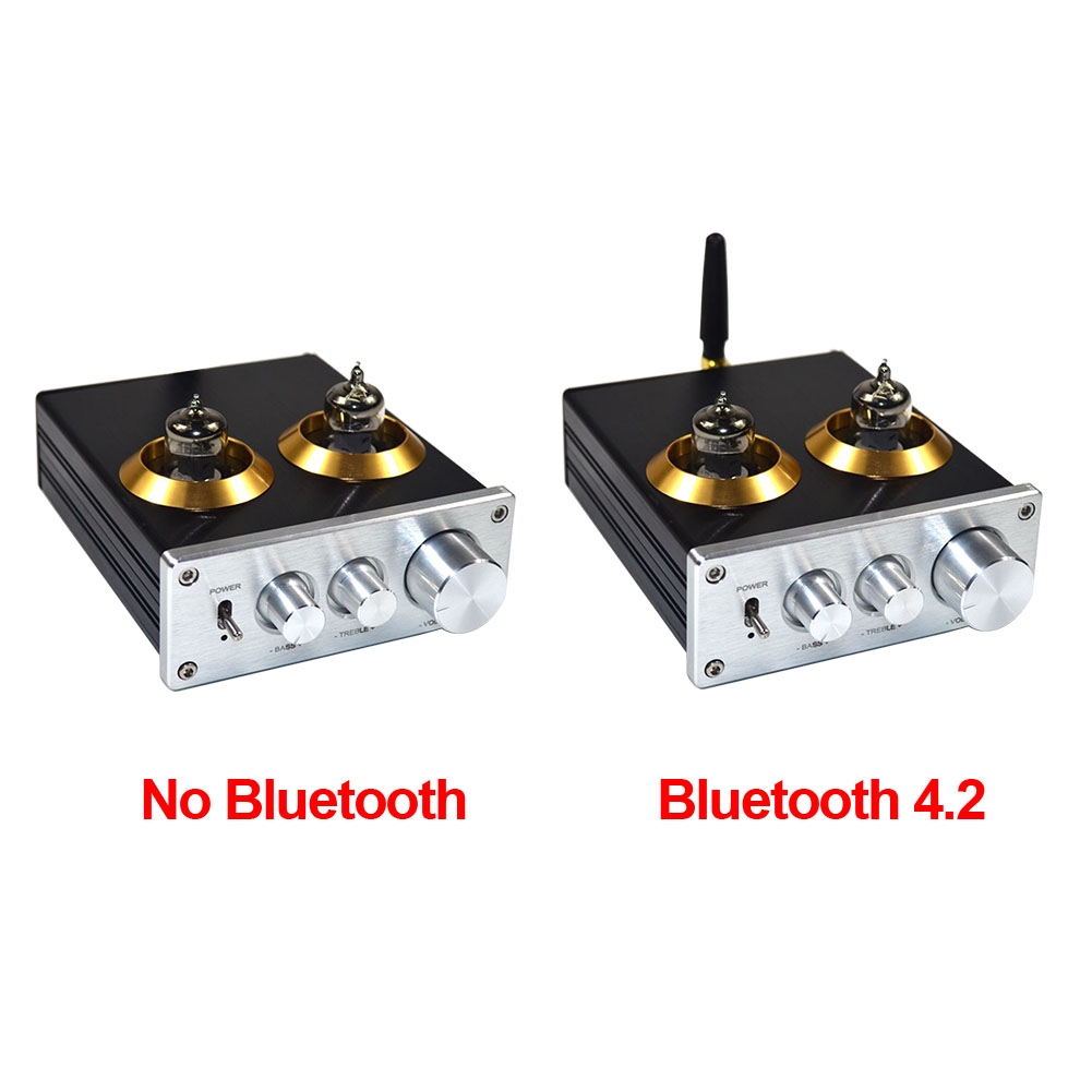 Treble Bass Mini Buffer Stereo For Home Theater Tone Control Adjustment 6J1  HIFI DIY Bile Preamp Amplifier