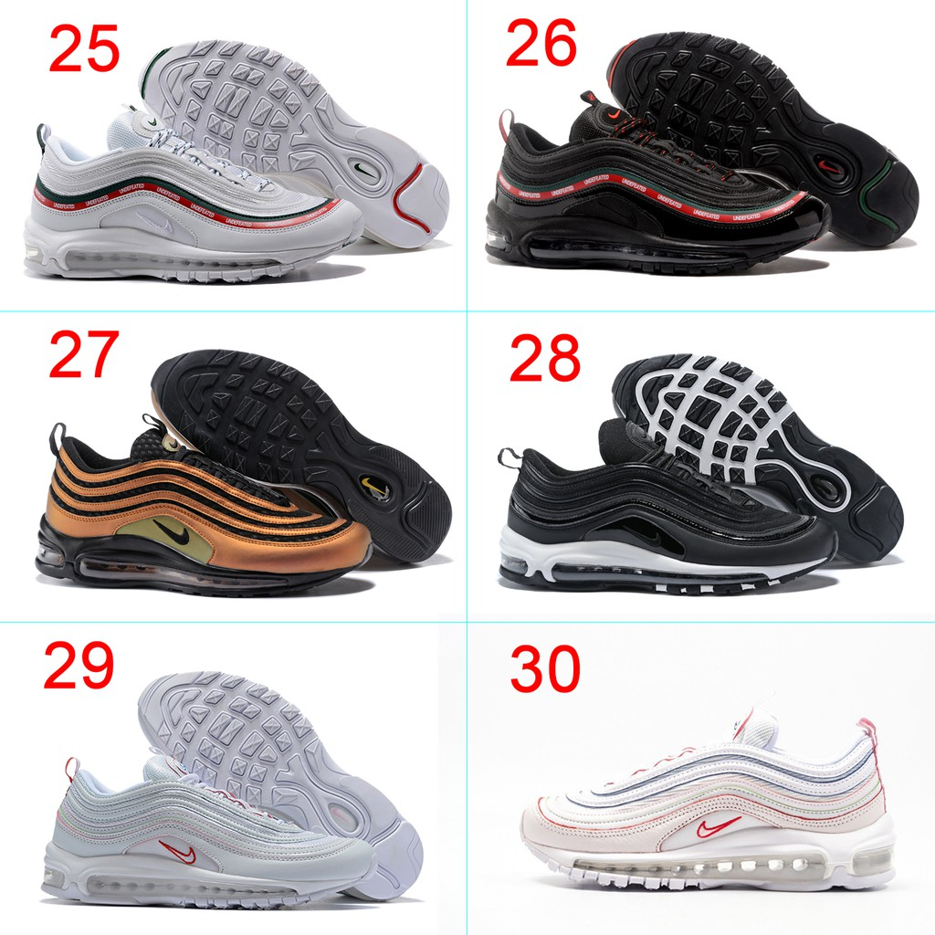 Nike Air Max 97 sneaker Men and Women shoes size 36 46