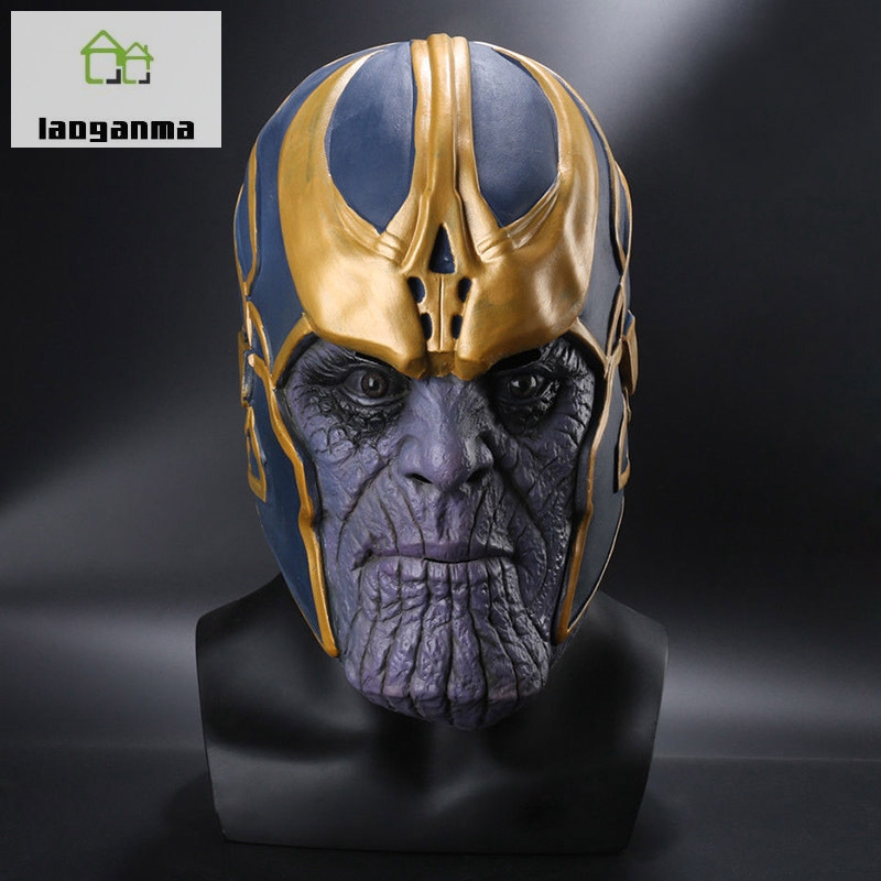 Back To Search Resultstoys & Hobbies 2019 Fashion Avengers Infinity War Thanos Mask Toy Halloween Cosplay Party Latex Thanos Helmet New Collection Models Birthday Gift