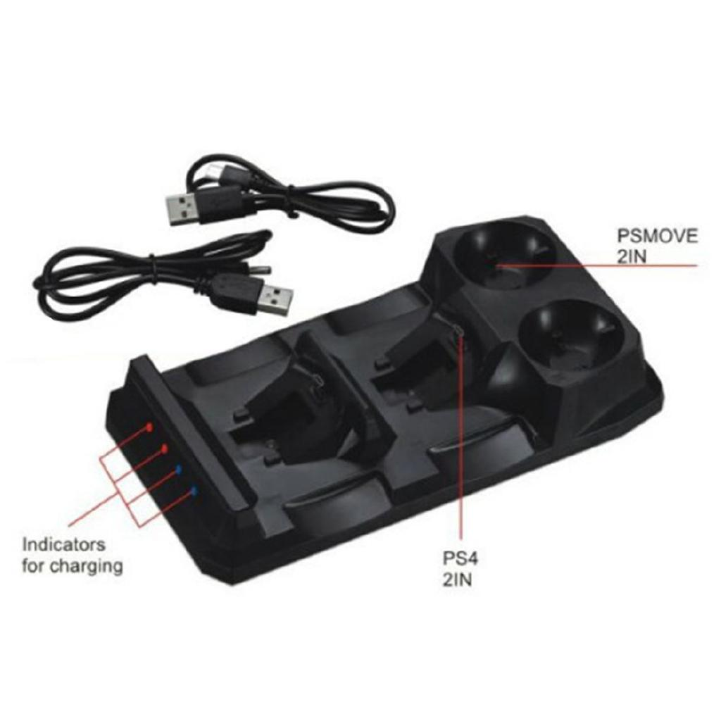 Ps4 Handle Charger Ps Move Four Charge Base Ps4Vr Dual