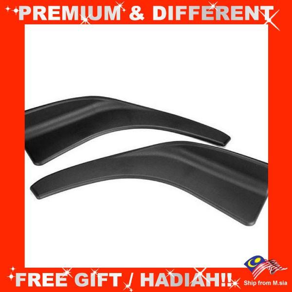 Front Deflector Spoiler Side Splitter 504 Rear Bumper Diffuser  Canard Lip Body Shovels (pair)