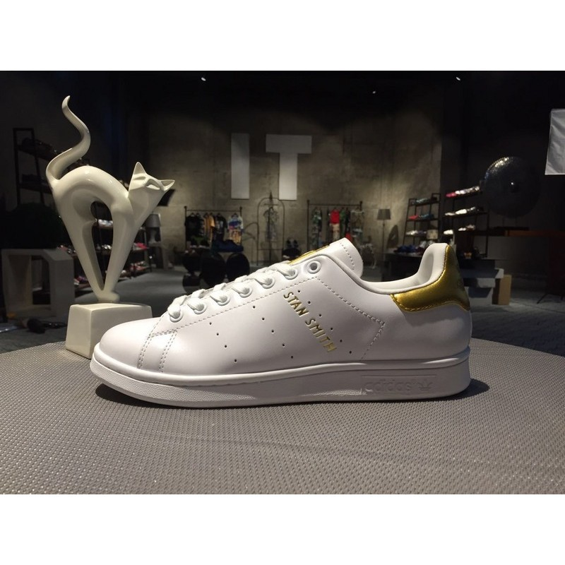 cheap for discount 7a7a6 beea6 Adidas Stan Smith 999 24K Gold 24KMen's sports shoes,women's shoes in  summer,all