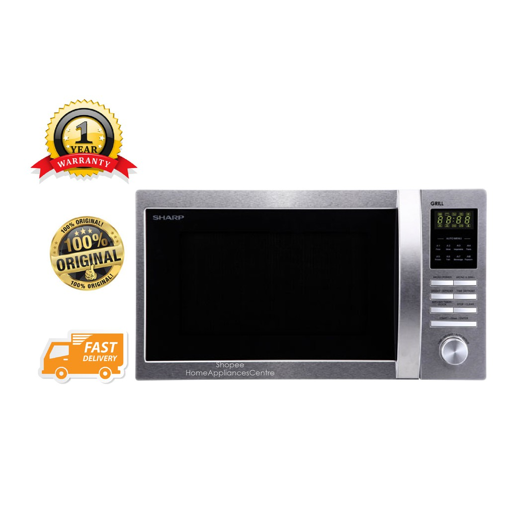 Sharp 42l Convection Grill Microwave Oven R954ast