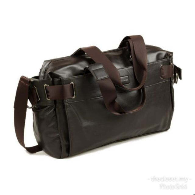 3d4f403bb45a MC277 - Man s Leather 3 Ways Carry Bag   Travel Casual Office Sling Bag RD7