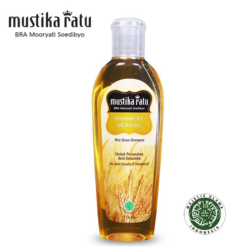 Mustika Ratu Shampoo Merang For Anti Dandruff Treatment (175ml)