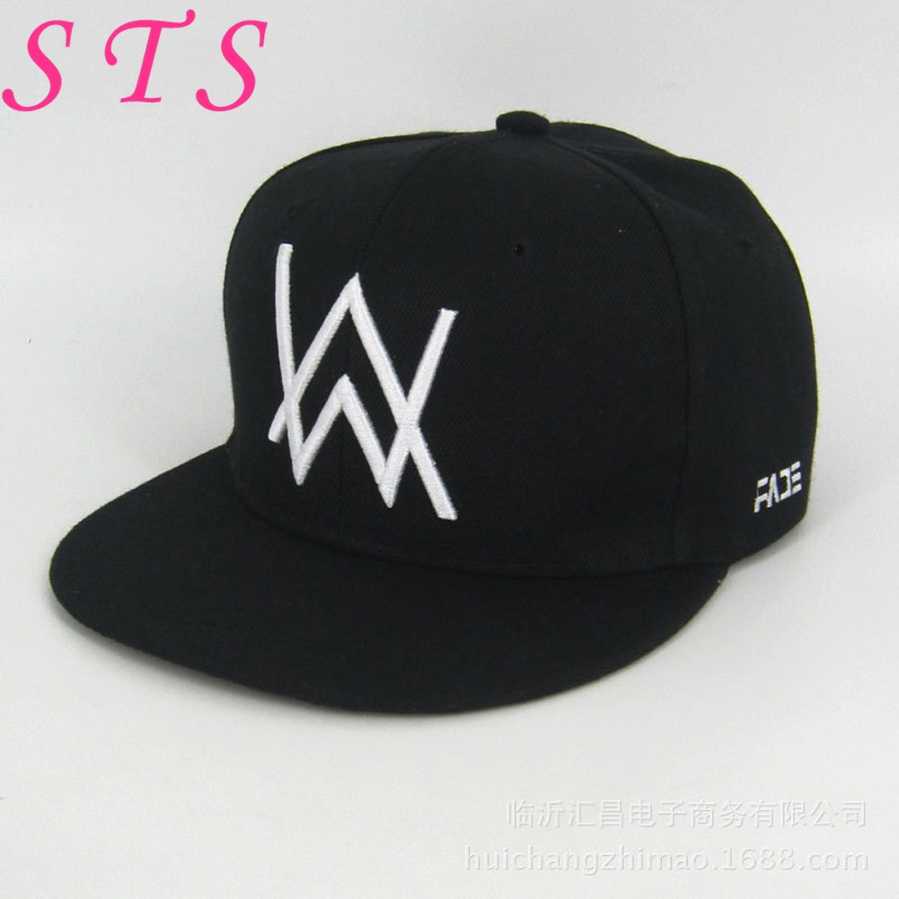 3ffa80c4a Chic Alan Walker Embroidered Baseball Cap By Customon