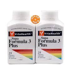 Vita Health Supa Formula 3 Plus Twin Pack 2x100's (Multivitamin)(Exp: 11/2021)