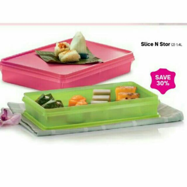 [OFFER 1 PC] TUPPERWARE SLICE N STOR, THIN STOR & COLD CUT KEEPER