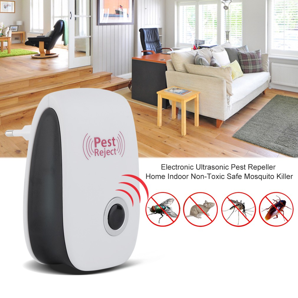 Electronic Ultrasonic Pest Repeller Home Indoor Non Toxic Safe Mosquito Circuits And Killer Shopee Malaysia