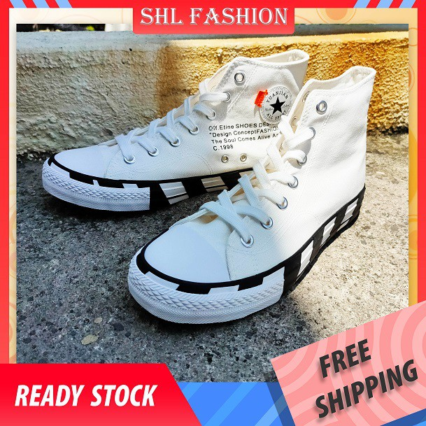 READY STOCK SHL Women Men Autumn 2020 Couple Shoes New Fashion Shoes Casual Shoes Korean Canvas Covered Small White Shoe