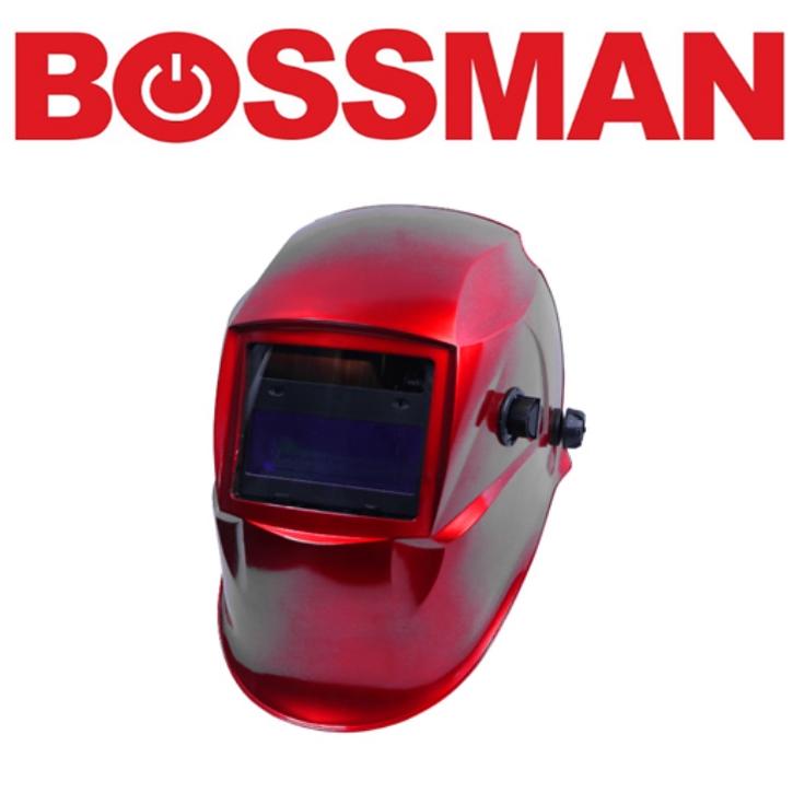BOSSMAN BWH204H AUTO DARKENING WELDING HELMET HIGH GOOD QUALITY PROFESSIONAL SAFETY 3 MONTHS WARRANTY