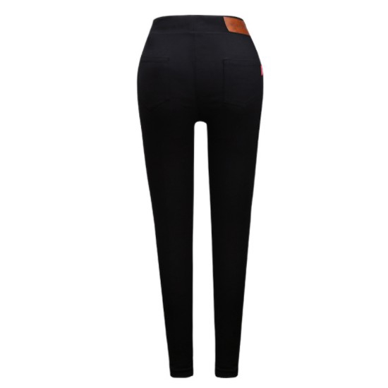 ed1f9049076 Women s Pants Over Size Super Stretch Magic Pant Skinny Black jeans ...