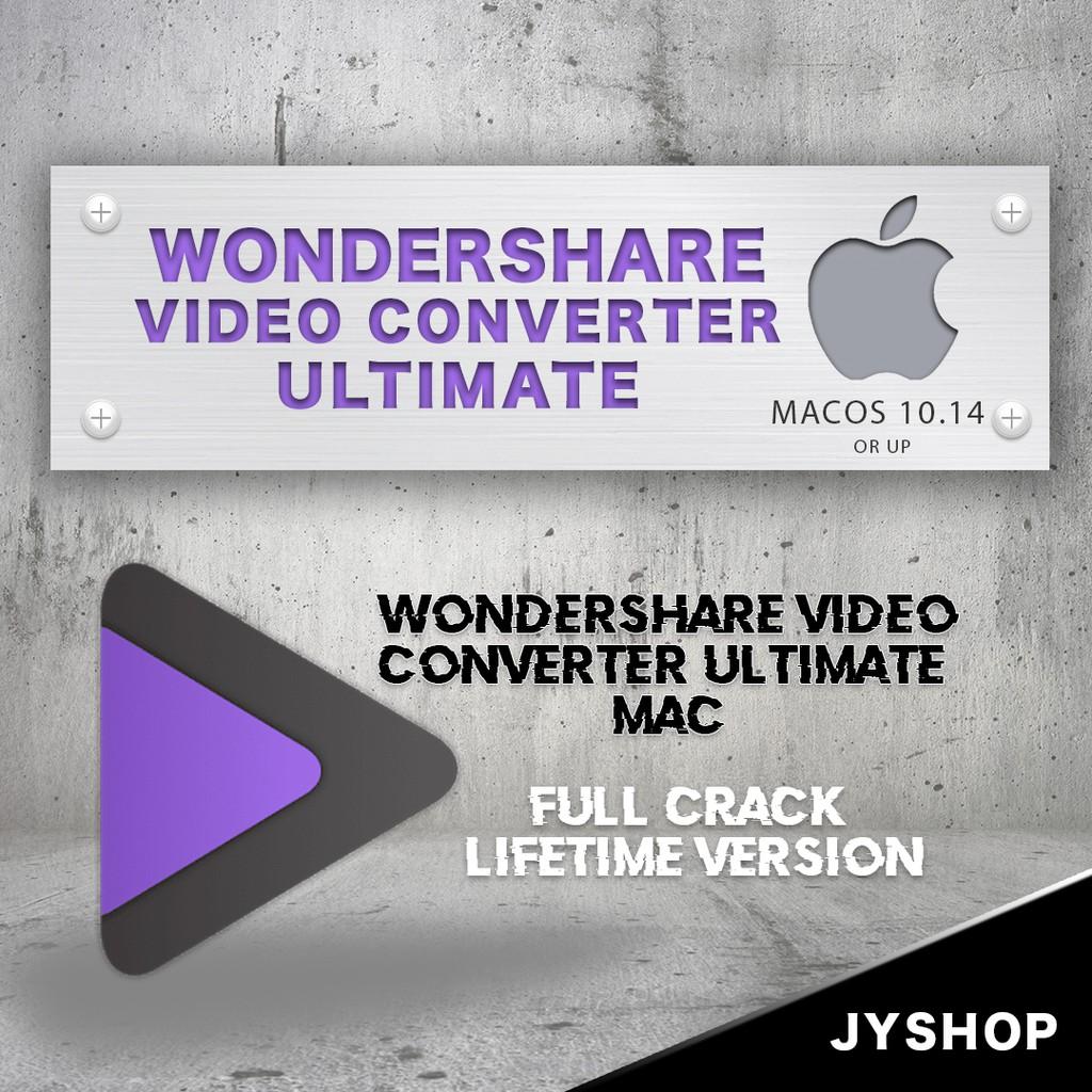 Wondershare Video Converter Ultimate Mac