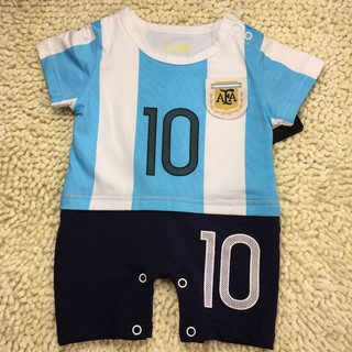 promo code bc597 caeb2 Infant Toddler Argentina No.10 Messi Jersey Football Clothes ...