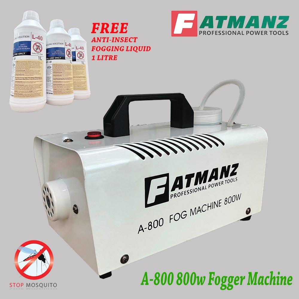Fogger machine 800w FREE ANTI-INSECT L40 fogging liquid 1 litre bottle