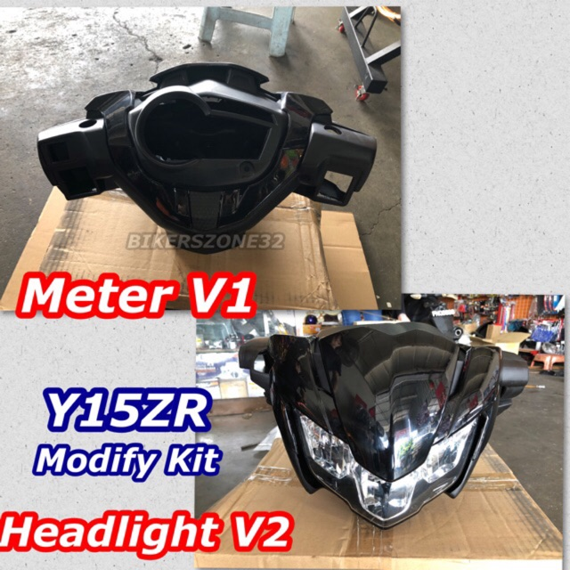 Y15ZR V2 Headlamp Modify Kit (Meter V1 / Headlight V2)PNP