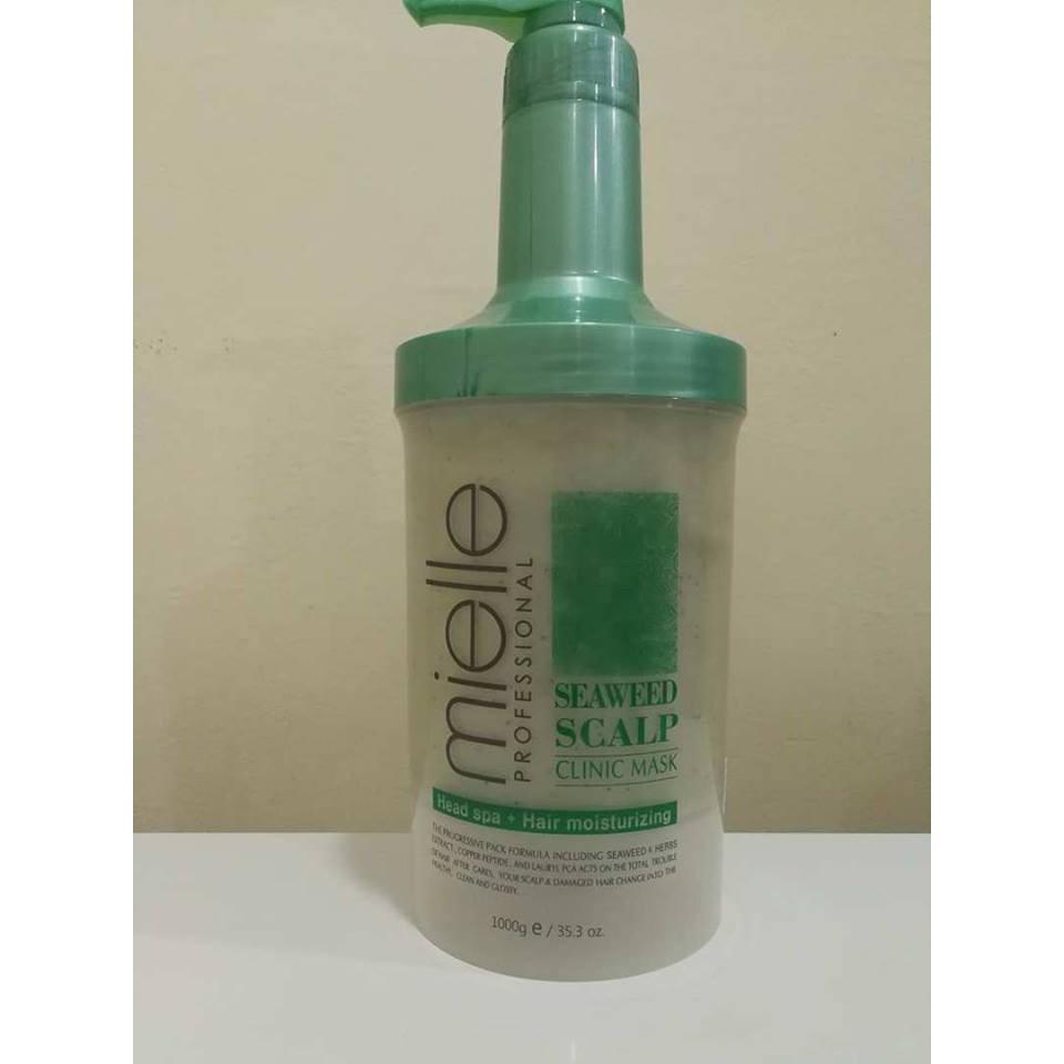 Mielle Professional Seaweed Scalp Clinic Shampoo Mask Series Loreal Hair Spa 500ml Shopee Malaysia