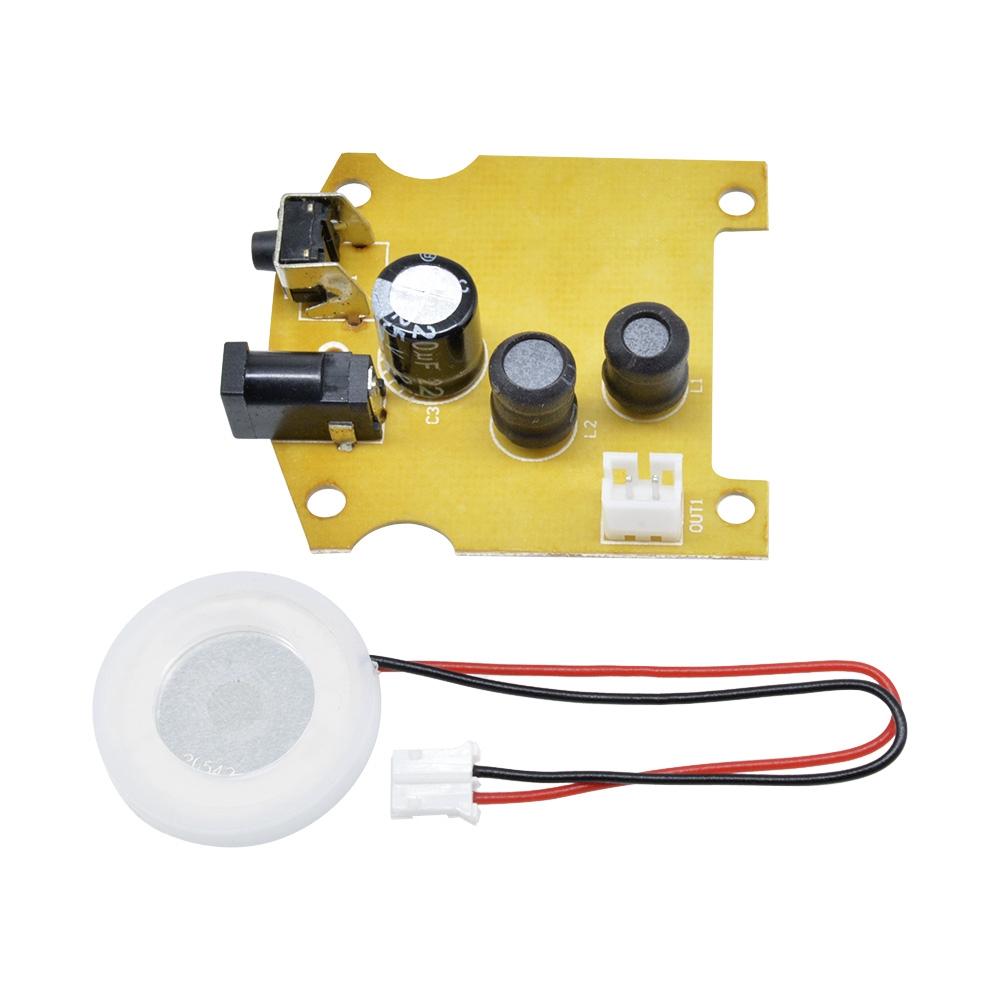 113KHz D20mm Ultrasonic Mist Maker Atomizing Fogger Ceramic Humidifier with PCB