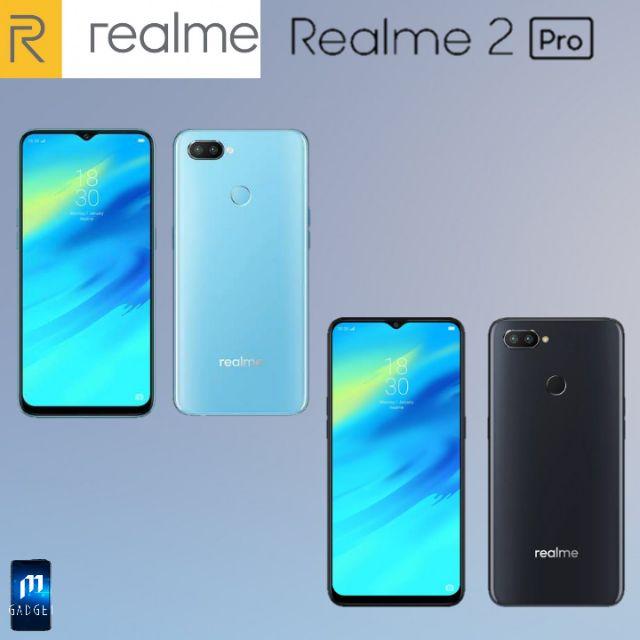REALME 2 PRO【4GB RAM +64GB ROM】【8GB RAM + 128GB ROM