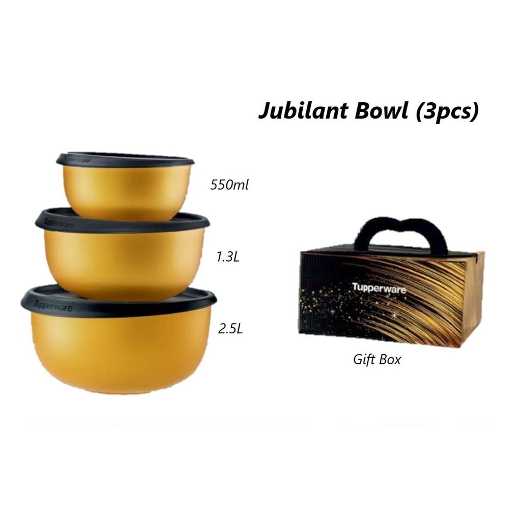 Tupperware Jubilant Bowl Set (55th Anniversary Special)
