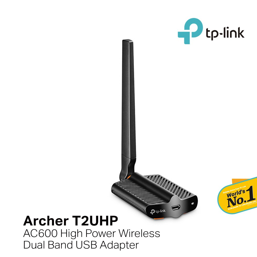 TP-LINK Archer T2UHP + AC600 High Power Wireless Dual Band