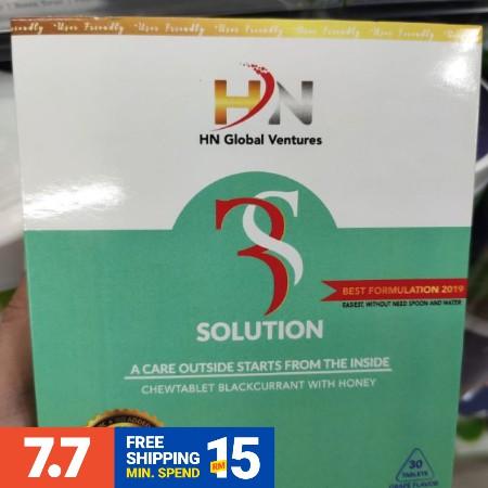 HN Global Ventures 3S Solution Original Ready Stock