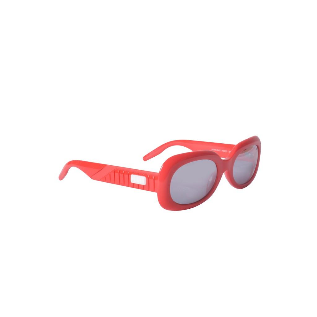 Puma Sunglasses - PU0227S-002 - Red & Silver