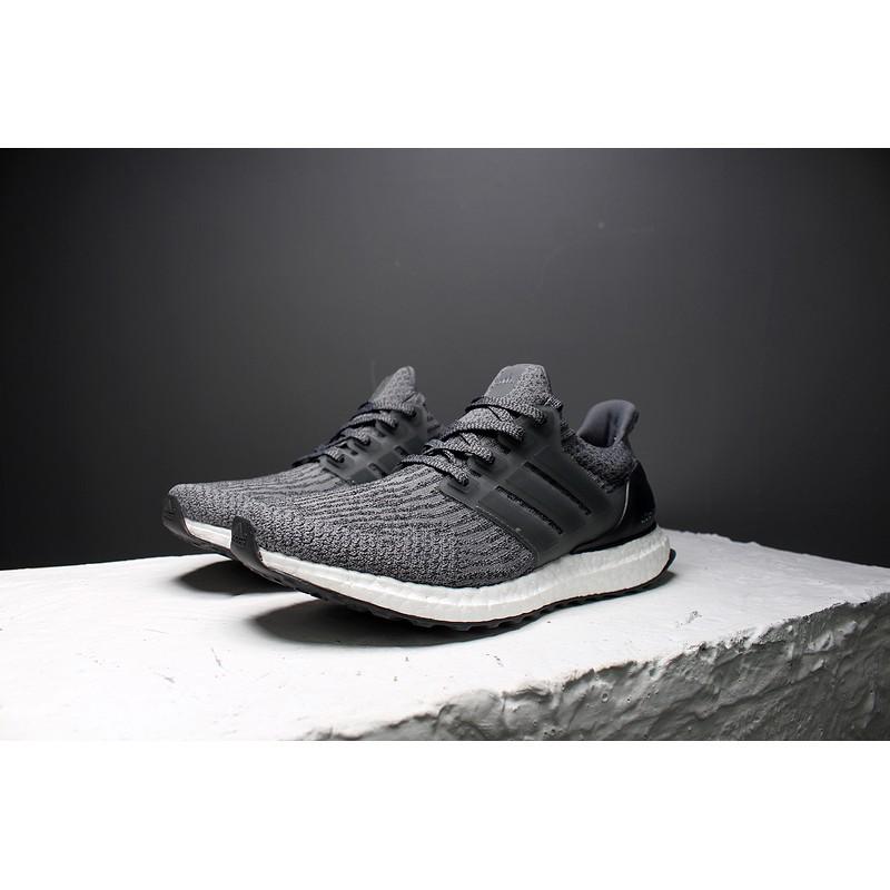 7bf332f3574 Original Adidas ultra boost ub3.0 grey black BA8849 40-44 men s shoes