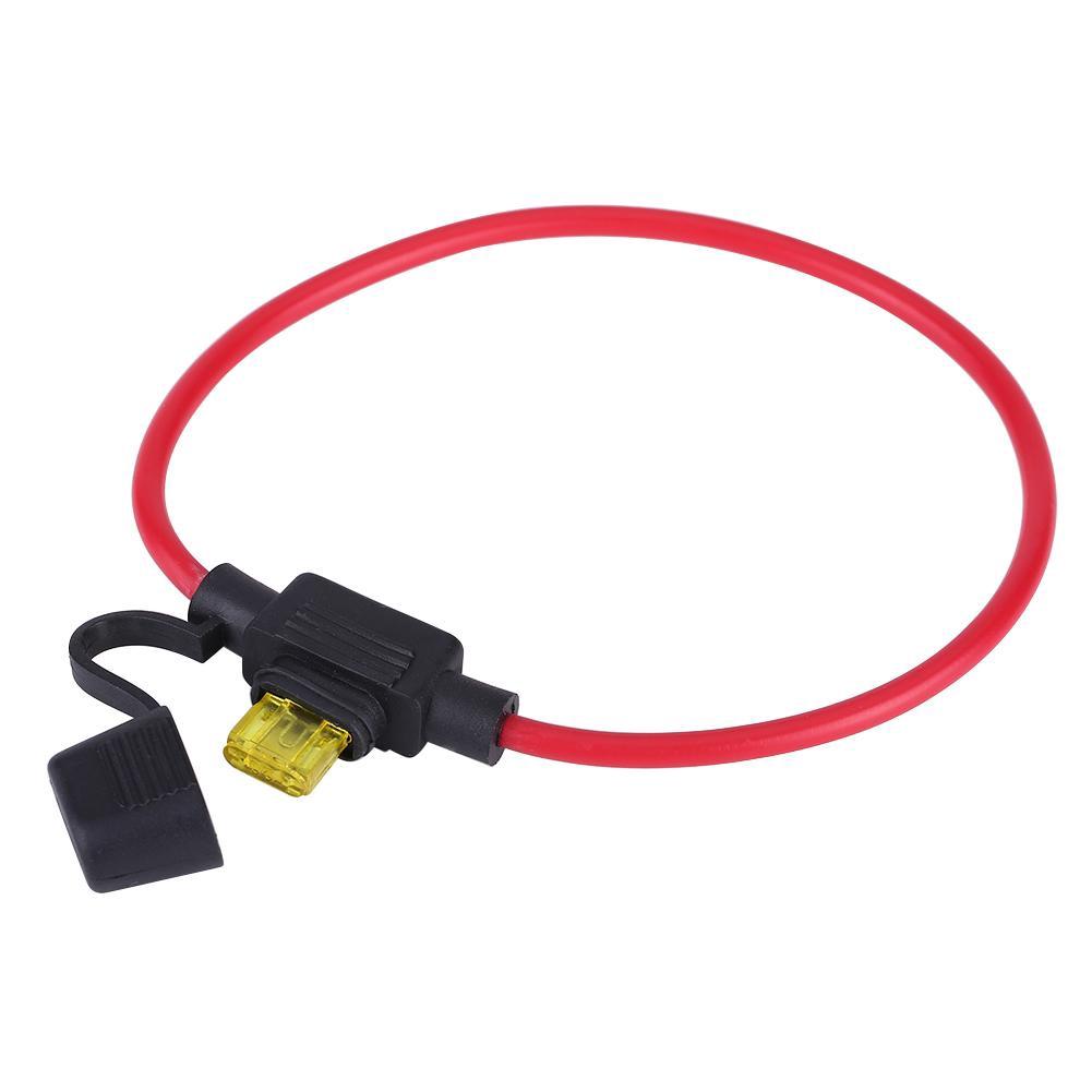 12v 24v Dc Car Stereo Audio Circuit Breaker Replace Fuse Inline 20amp