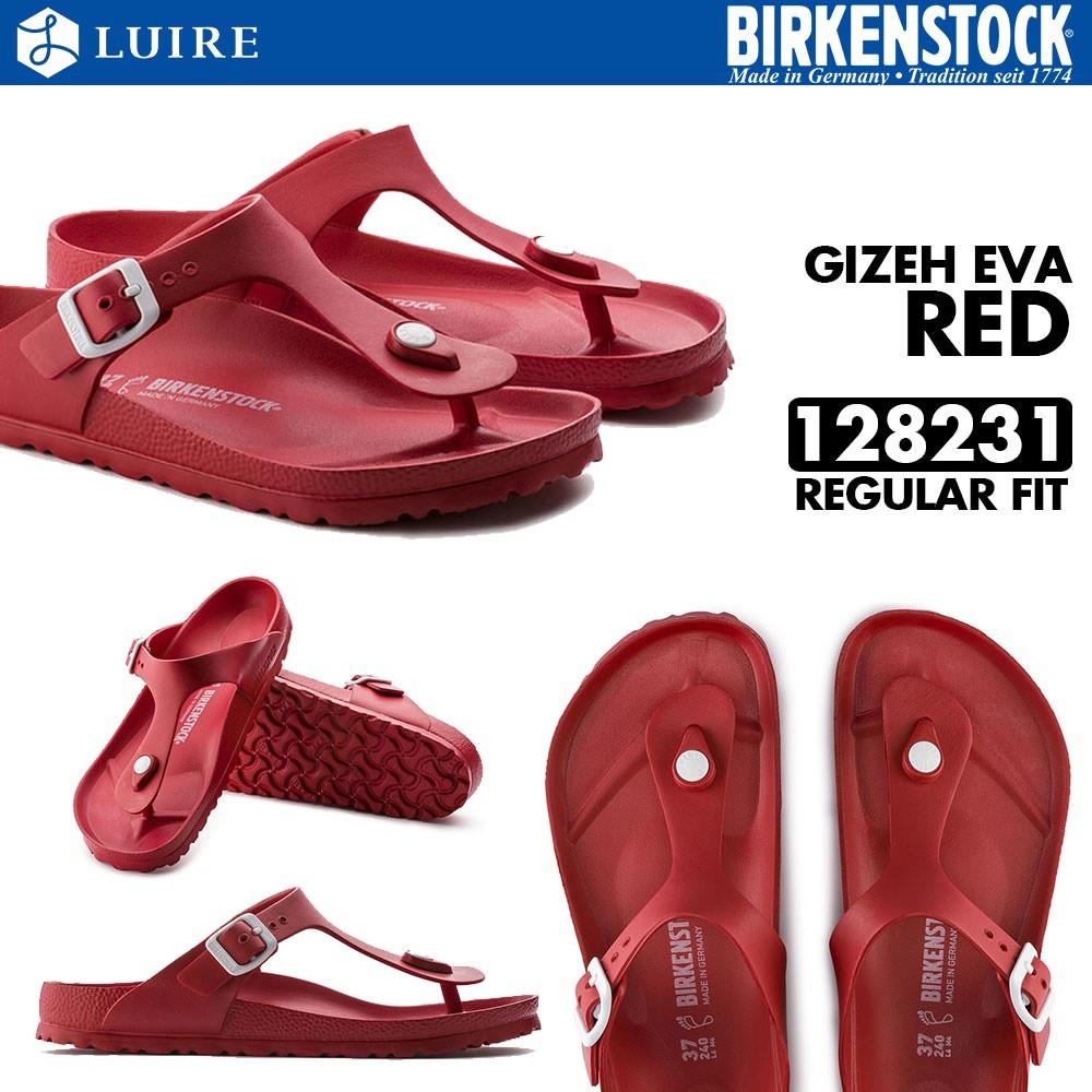 2b6d4a6548e  BIRKENSTOCK  GIZEH EVA - RED