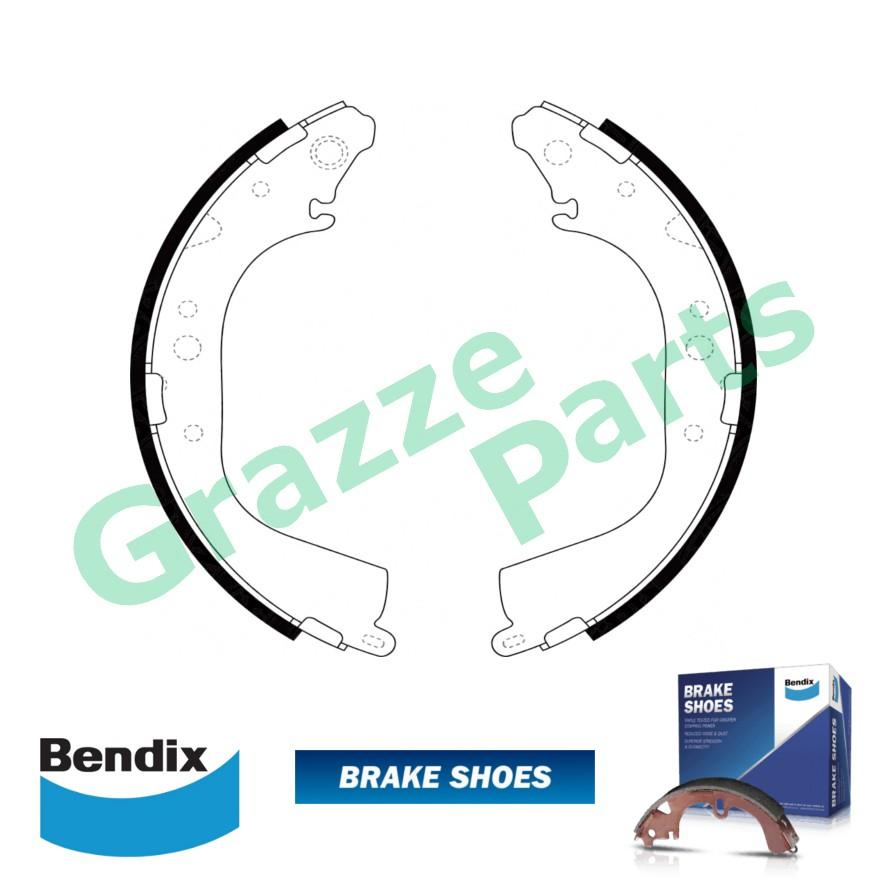 Bendix Hand Brake Shoe for D2225 - Toyota Land Cruiser BJ45
